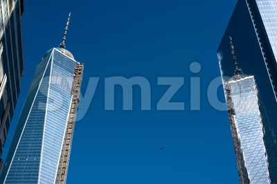 One World Trade Center Tower Stock Photo