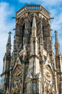 Feuersee Church in Stuttgart, Germany Stock Photo
