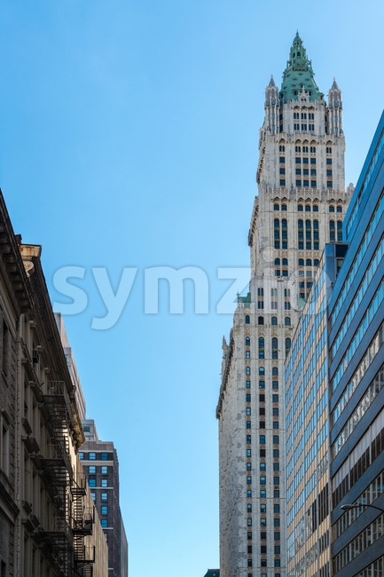 American Buildings Stock Photo
