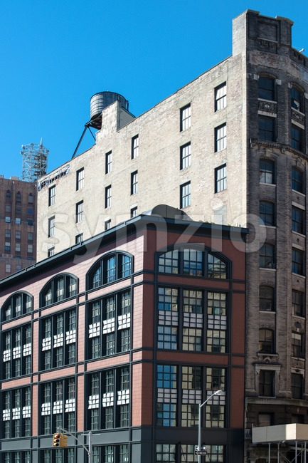 Great New York Facades Stock Photo