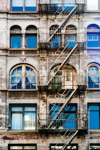 Beautiful New York Facade Stock Photo