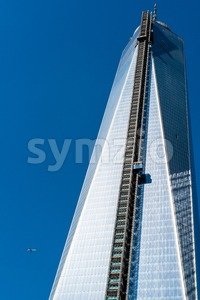 Deja vu - One World Trade Center Tower Stock Photo