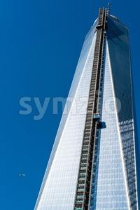 Deja vu - One World Trade Center Tower Stock Photo