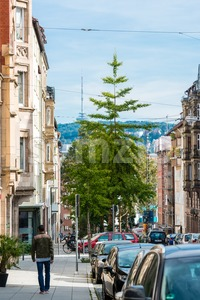 Vogelsangstraße, Stuttgart, GermanyVogelsangstraße, Stuttgart, Germany Stock Photo