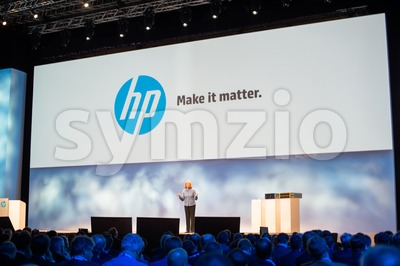 Meg Whitman at HP Discover 2012 Stock Photo