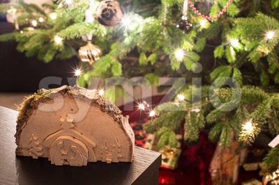 Christmas scenery Stock Photo