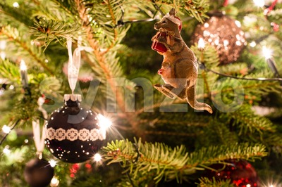 Australian Christmas Stock Photo