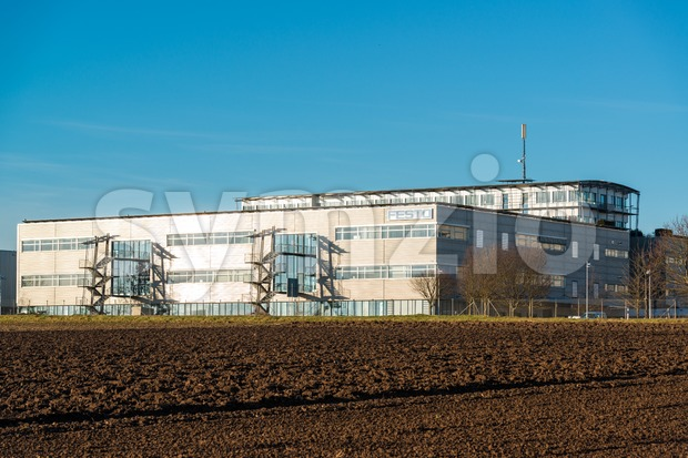 Modern Festo production plant Stock Photo