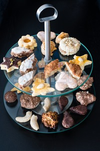 Cookies Assortment Stock Photo