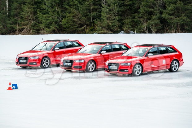 Audi Driving Experience Stock Photo