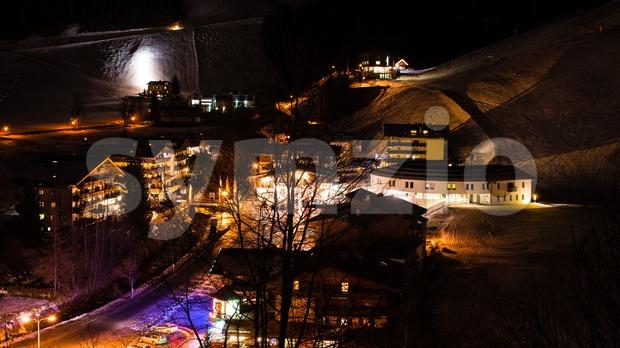 Saalbach Hinterglemm Stock Photo