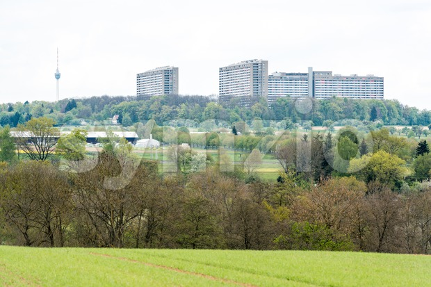 View on Stuttgart Stock Photo