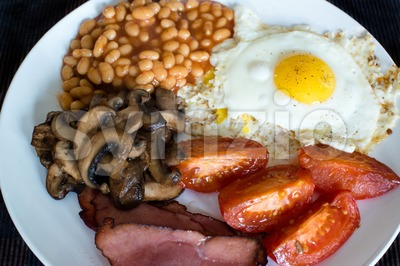 Traditional English breakfast Stock Photo