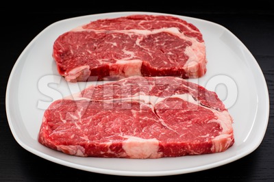 entrecote steaks Stock Photo