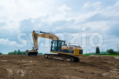 Big excavator Stock Photo