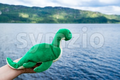 Nessie: Loch Ness Monster Stock Photo
