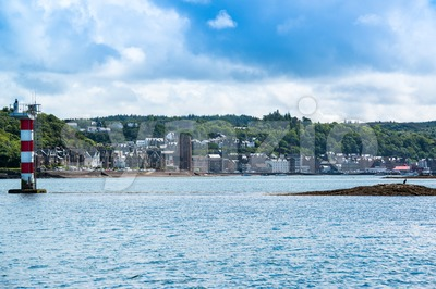 The Bay of Oban, Scotland Stock Photo