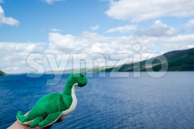 Nessie: The Loch Ness Monster Stock Photo