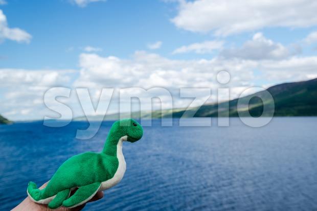 Nessie: The Loch Ness Monster Stock Photo