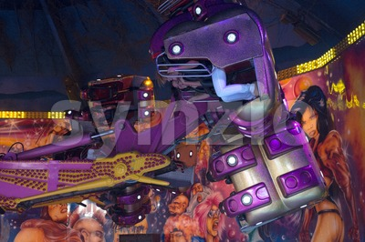 Fairground Attraction Stock Photo