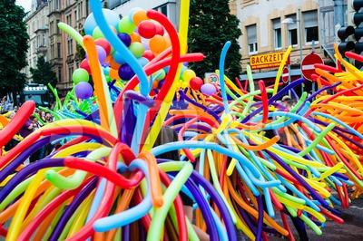 Christopher Street Day 2014 in Stuttgart, Germany Stock Photo