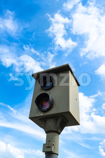 Speed camera Stock Photo