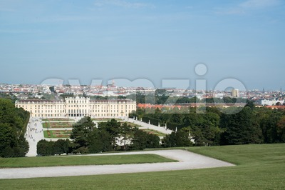 Schoenbrunn Palace, Vienna, Austria Stock Photo