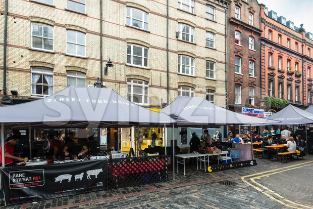London Street Food Stock Photo