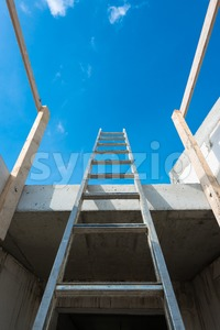 build your way up Stock Photo