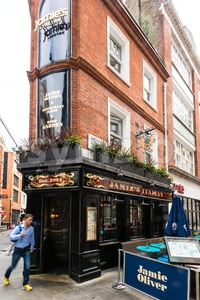 Jamies Italian Restaurant in Soho, London Stock Photo