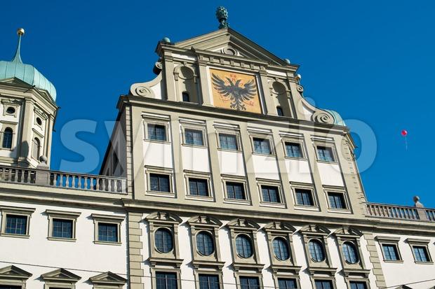 Augsburg Townhall (Rathaus) Stock Photo
