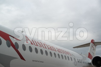 Austrian Arrows plane Stock Photo