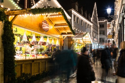 Esslingen Christmas Market Stock Photo