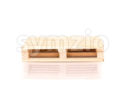 miniature euro pallet Stock Photo