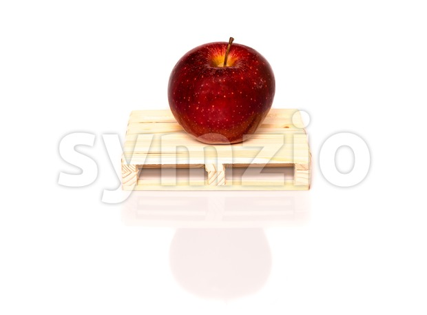 sustainable fruit shipment Stock Photo