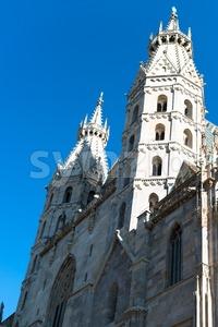 St.Stephan Cathedral, Vienna, Austria Stock Photo