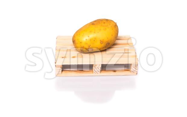 potatoe shipment Stock Photo
