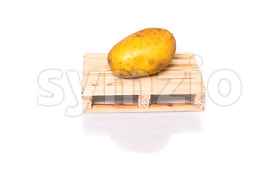 potatoe shipment Stock Photo