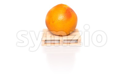 grapefruit shipment Stock Photo