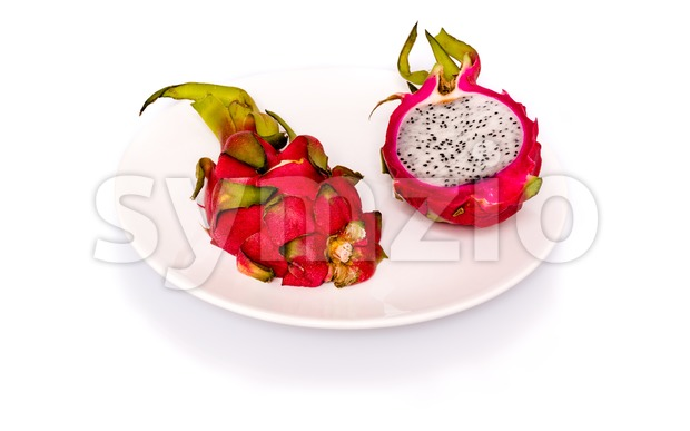 Pitahaya or dragon fruit Stock Photo