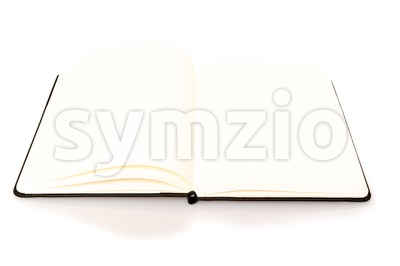Notebook with space for your text Stock Photo