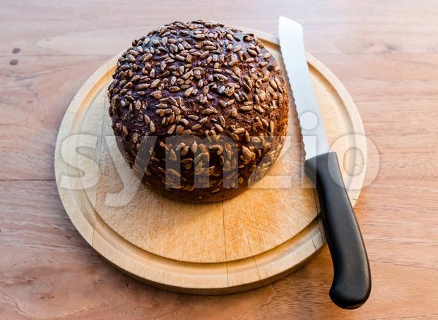 Fresh baked bread Stock Photo