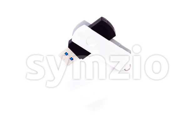 usb stick on white Stock Photo