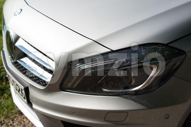 Mercedes Benz A-Class detail Stock Photo