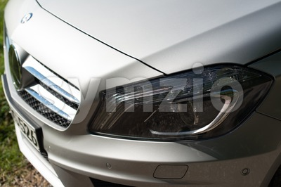 Mercedes Benz A-Class detail Stock Photo