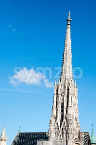 Renovation of St.Stephan Cathedral, Vienna, Austria Stock Photo