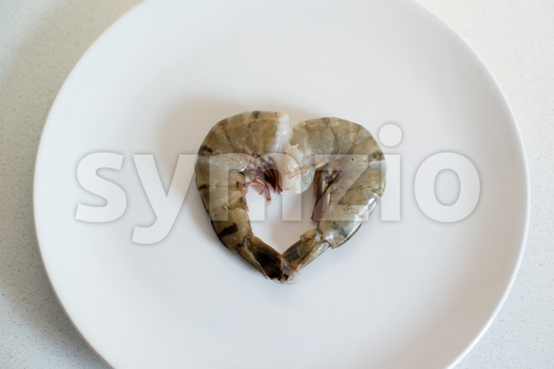 I love seafood Stock Photo