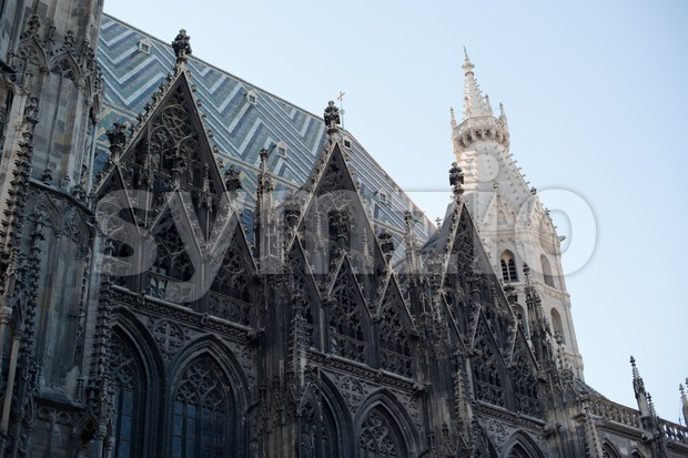 St.Stephan cathedral (also called Steffel) in Vienna, Austria