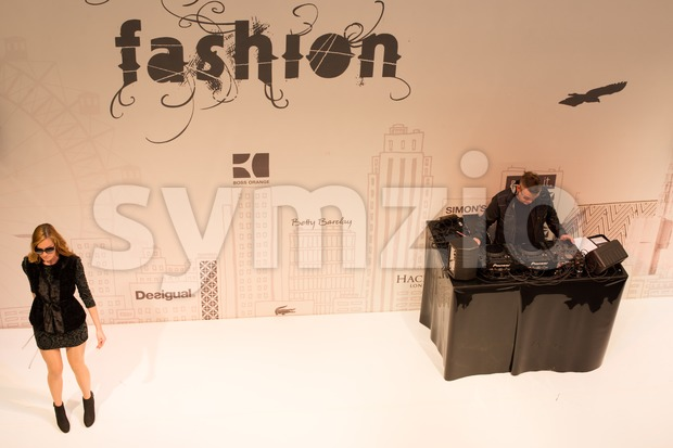VIENNA - OCTOBER 6: The Gerngross fashion store is conducting a fashion show on October 6, 2012 in its store ...
