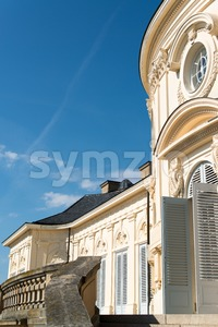 Palace of the Solitude in Stuttgart, Germany Stock Photo